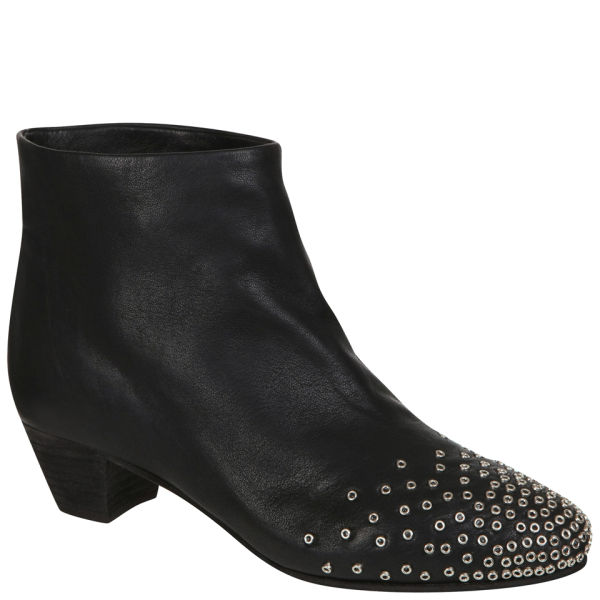 See By Chloé Women's Studded Ankle Boots - Black