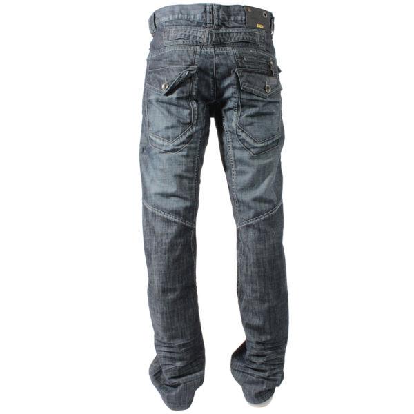 Enzo Boys Ezb10 Straight Leg Blue Denim Jeans Clothing