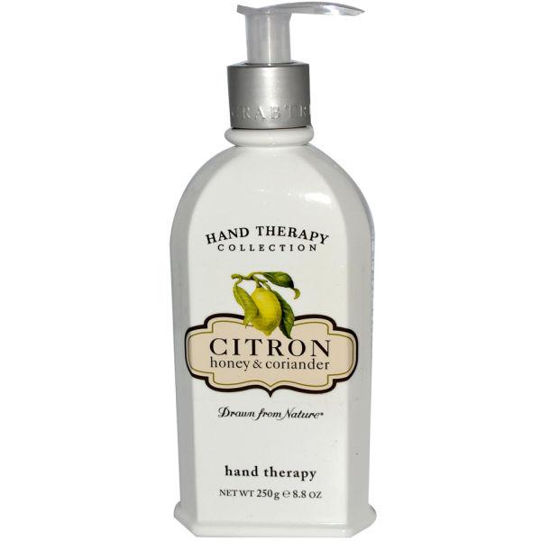 Soin des mains citron, miel et coriandre Crabtree & Evelyn(250g)