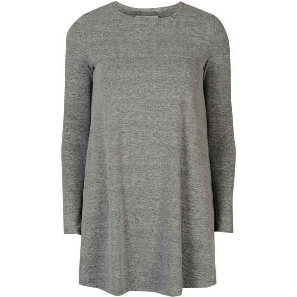 d03802683c3e Glamorous Women s Long Sleeve Swing Dress - Grey Womens Clothing ...