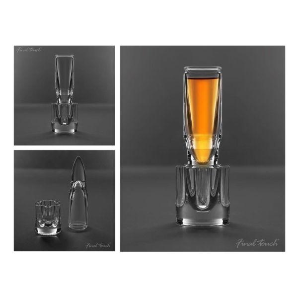 Bullet Shot Glass Gift Tube Iwoot