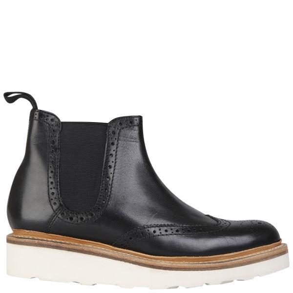 Grenson Women's Alice V Chelsea Boots - Black