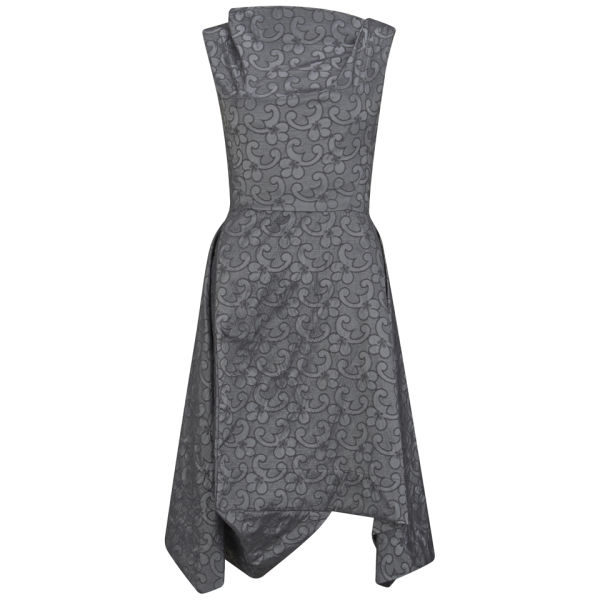 Vivienne Westwood Anglomania Women's  Aztek Brocade Dress - Grey