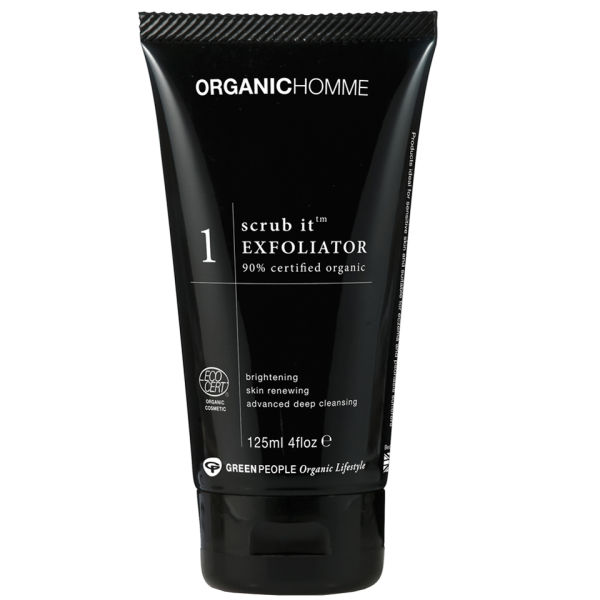 Green People Organic Homme 1 Scrub It Exfoliator (4.2oz)