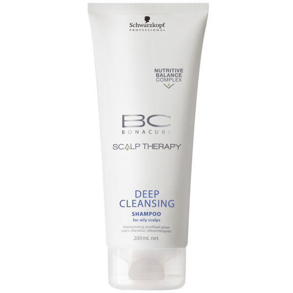 Schwarzkopf BC Bonacure Scalptherapy Deep Cleansing Shampoo 200 ml