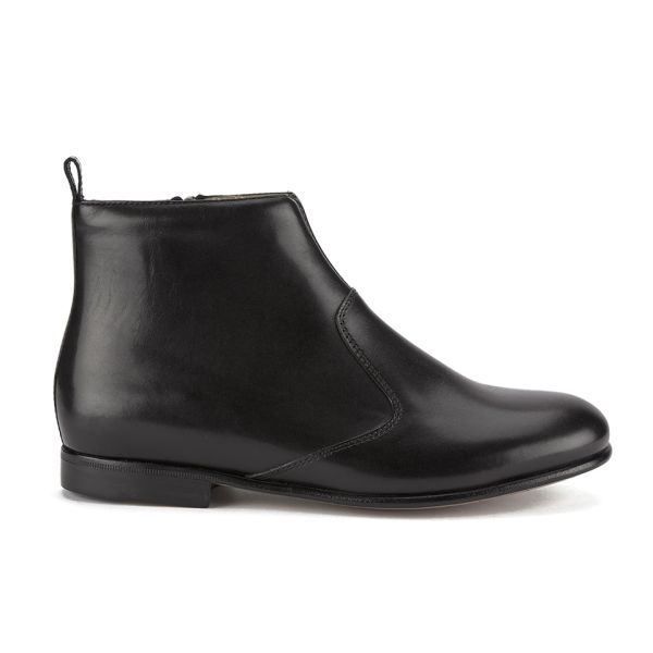 A.P.C. Women's Gigi Leather Chelsea Boots - Black