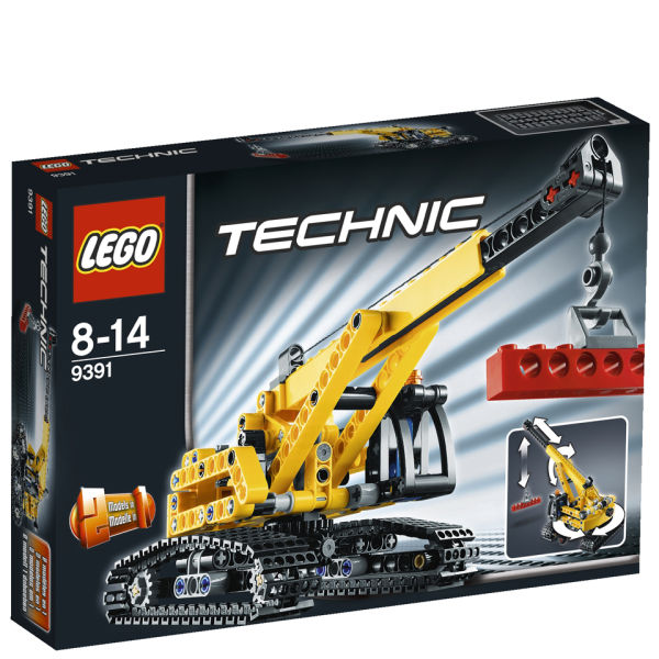 lego technic crawler crane 9391 toys. Black Bedroom Furniture Sets. Home Design Ideas