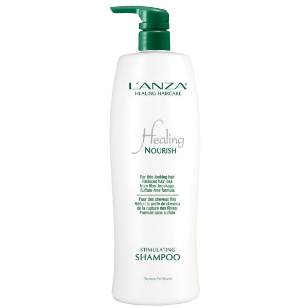 LAnza Healing Nourish Stimulating Shampoo (1000ml) - (Worth £91.00)