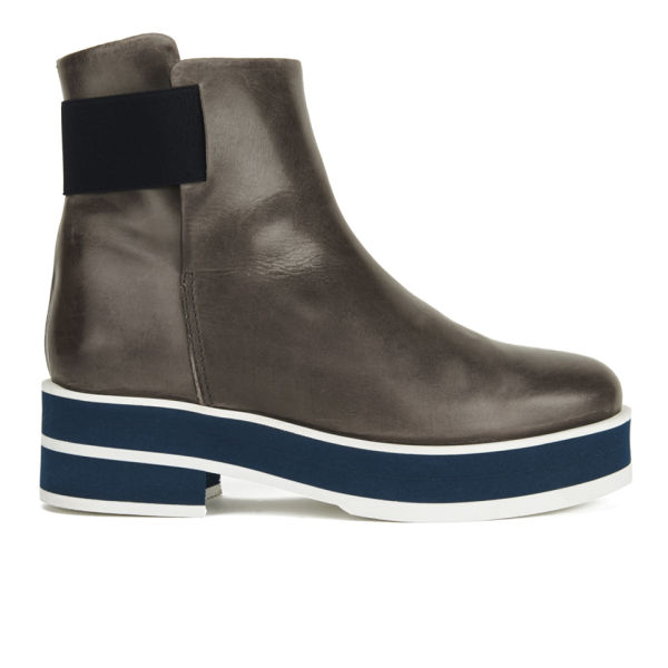 Wood Wood Women's Sampson Platform Boots - Grey
