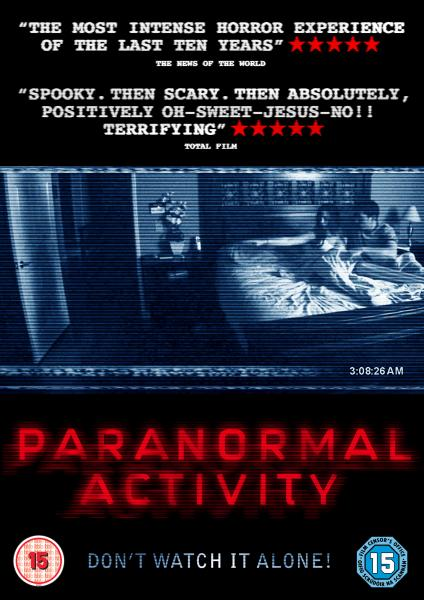 Paranormal Activity Dvd Zavvi