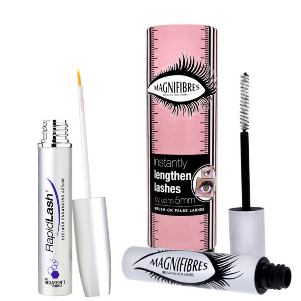Duo rehausseur et allongeant cils RapidLash et Magnifibres