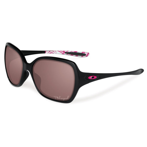 oakley polarised sunglasses  Oakley Women\u0027s Overtime Polished Polarized Sunglasses - Black ...