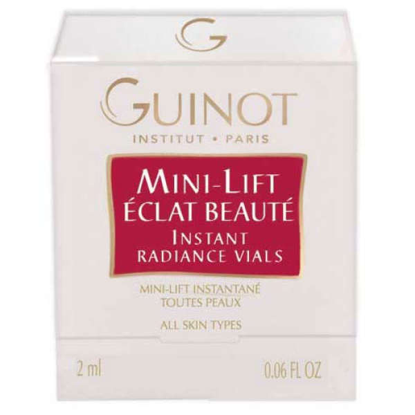Guinot Mini-Lift Eclat Beaute (Instant Radiance Vials) (2 Ampules)
