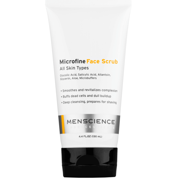 Menscience Microfine Face Scrub 4oz