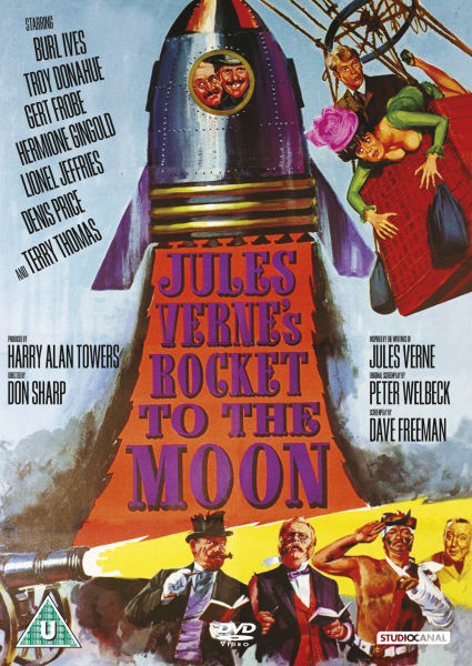 Jules Vernes Rocket To The Moon Dvd Zavvi Uk