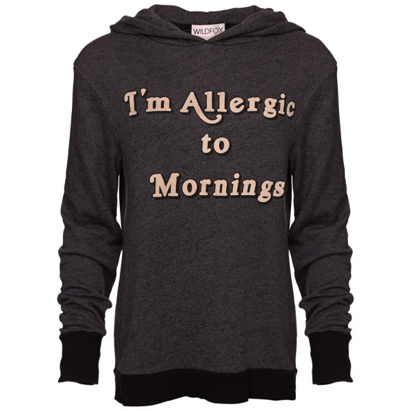 Wildfox Women's Morning Allergies Gypsy Hoody - Clean Black
