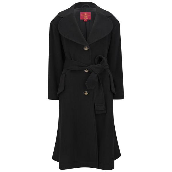 Vivienne Westwood Red Label Women's Tie Front Trench Coat - Black