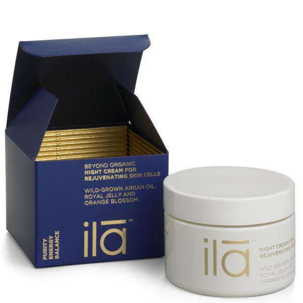 ila-spa Night Cream for Rejuvenating Skin Cells 1.7 oz