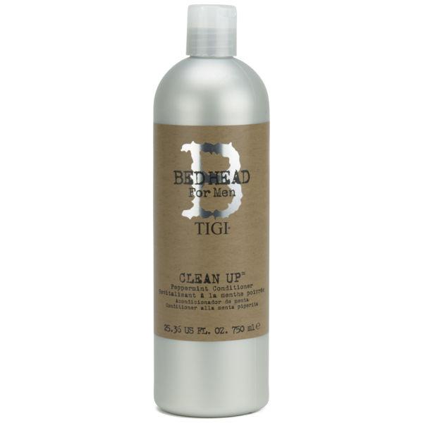 TIGI Bedhead for Men Clean Up Peppermint après-shampooing à la menthe (750ml)