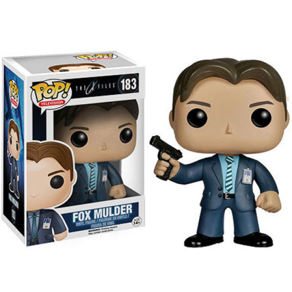 X-Files Fox Mulder Pop! Vinyl Figure