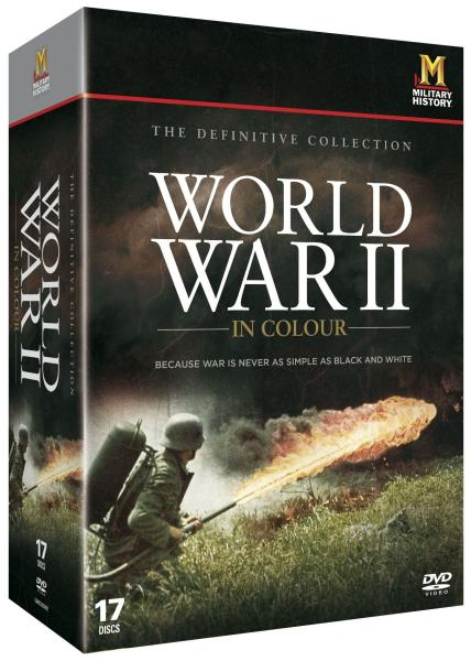 World War Ii 2 In Colour Dvd Zavvi