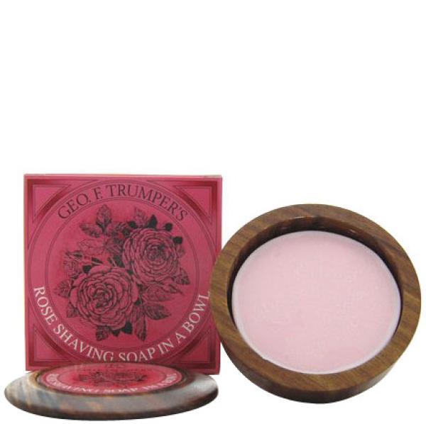 Recharge de savon de rasage dur à la rose de Trumpers 80 g