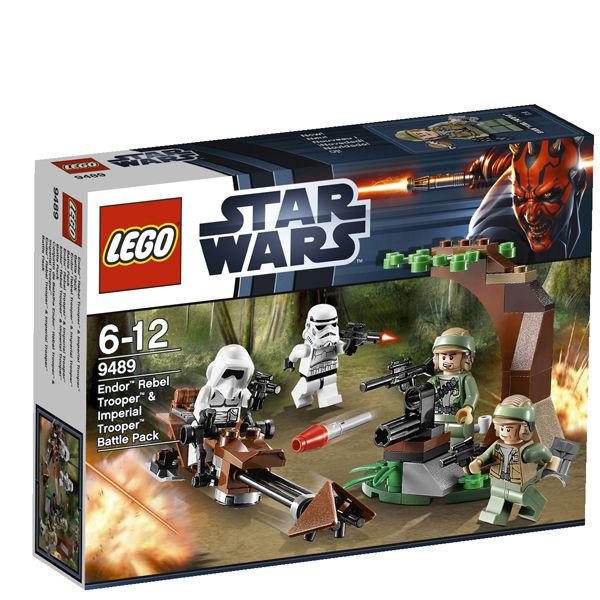 Lego Star Wars Battles 0 30 Apk: LEGO Star Wars: Endor Rebel Trooper & Imperial Trooper