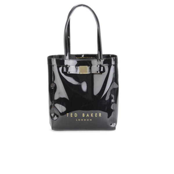 Ted Baker Women's Salcon Bow Plastic Small Tote Bag - Black