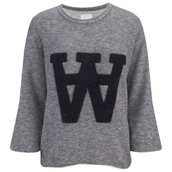 Wood Wood Women's Hope Sweatshirt - Grey Melange