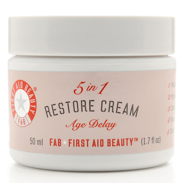 Health And Beauty Aids: First Aid Beauty 5-in-1 Restore Cream (50ml) Health