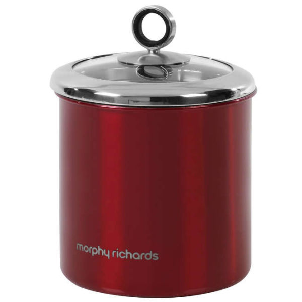 Morphy Richards Bbq: Morphy Richards Accents Large Storage Canister - Red
