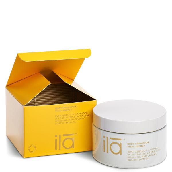 ila-spa Body Cream for Vital Energy 7oz