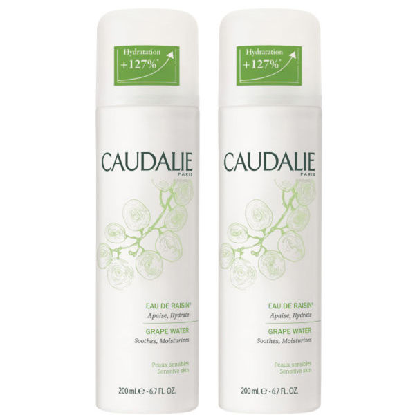 Caudalie Duo Grape Water (2 x 200ml) Worth £24.00