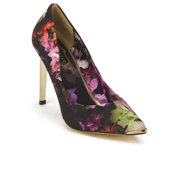 b127c13376cf Ted Baker Women s Adecyn Floral Pointed Court Shoes - Multi  Image 5