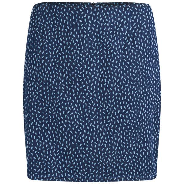 Lacoste Live Women's Printed Mini-Skirt - Blue