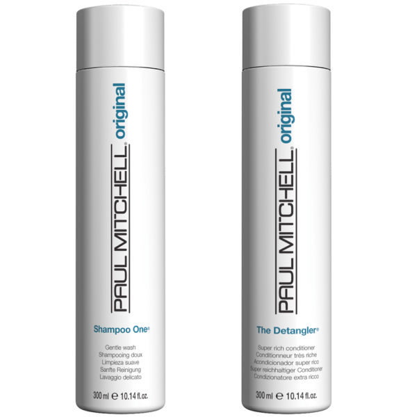 Paul Mitchell Shampoo One & Detangler Duo (2 produkter)