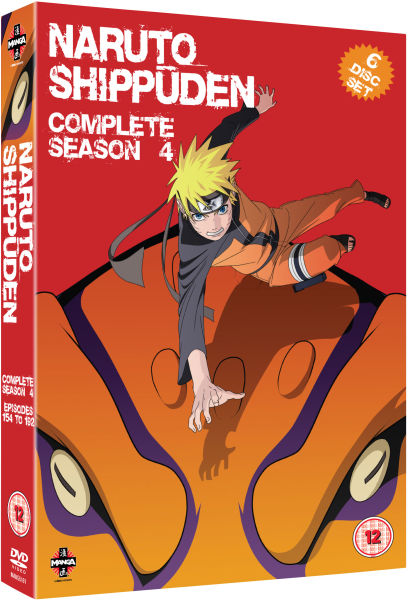 Naruto Shippuden - Complete Series 4: Episodes 154-192