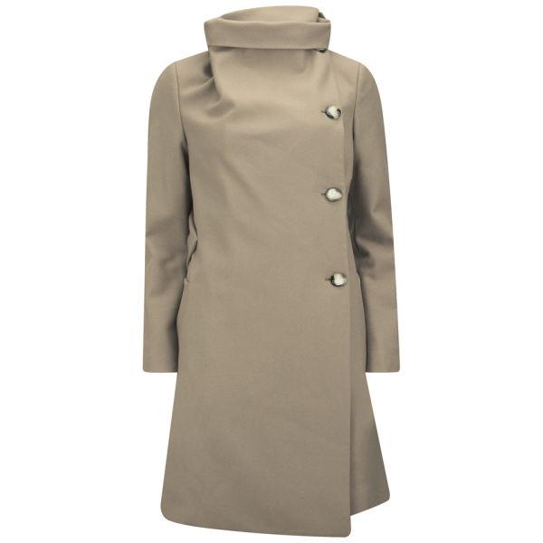 Vivienne Westwood Red Label Women's Classic Melton Coat - Camel
