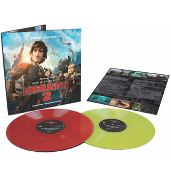How to train your dragon 2 ost 2lp limited coloured vinyl 200 how to train your dragon 2 ost 2lp limited coloured vinyl 200 ccuart Image collections