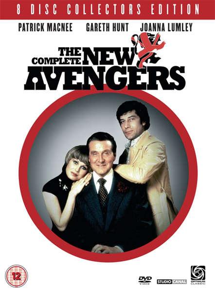 The New Avengers Dvd Zavvi