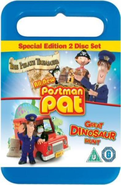 Postman Pat: Pirate Treasure / Great Dinosaur Hunt