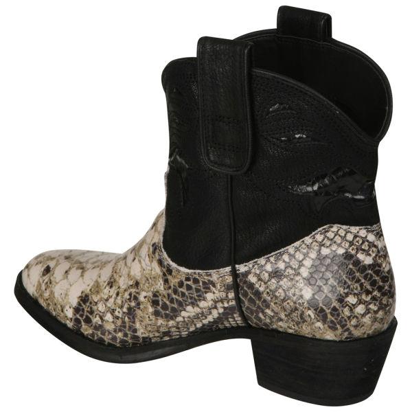 6211ee4c24040 Sam Edelman Women s Stevie Cowboy Boots - Snake Skin  Image 2