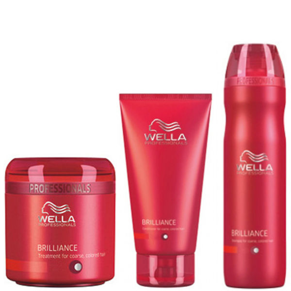 Wella Professionals Brilliance Trio For Coarse Coloured