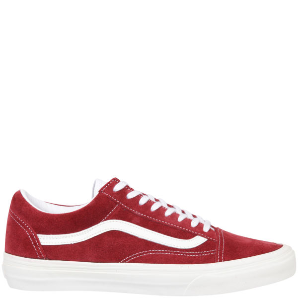 ce29d5113e Vans Old Skool Vintage Trainers - Rio Red  Image 3
