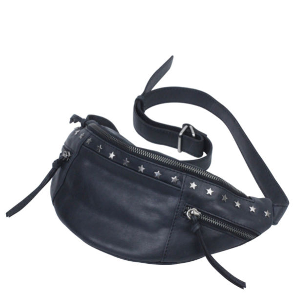 Markberg Martina Leather Bum Bag - Black - Free UK Delivery over £50