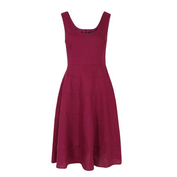 Great Plains Women's J1CN9 Sandbanks Linen Tiered Dress - Rosanna