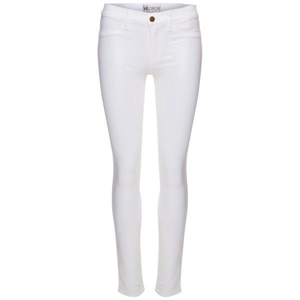 Wildfox Women's Marianne Mid Rise Skinny Jeans - Mesmorize