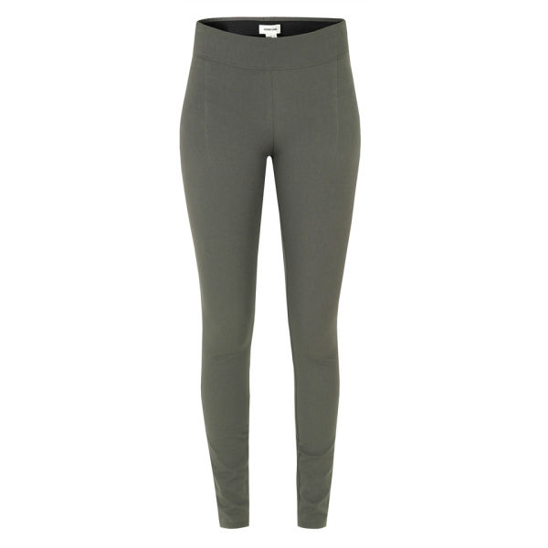 Helmut Lang Women's Core Dress Leggings - Grey Mudstone