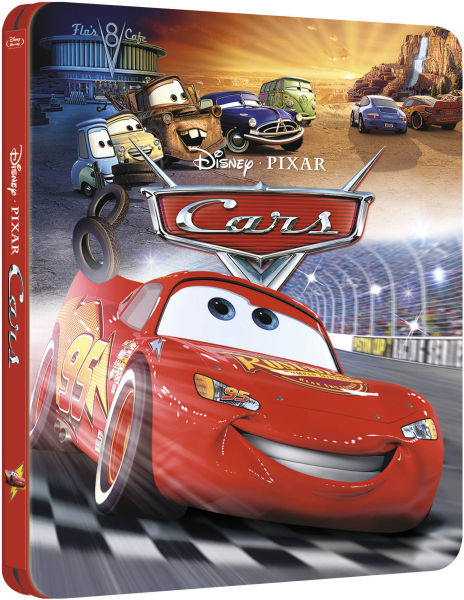 cars 3d zavvi exclusive limited edition steelbook the pixar collection 8 blu ray zavvi. Black Bedroom Furniture Sets. Home Design Ideas