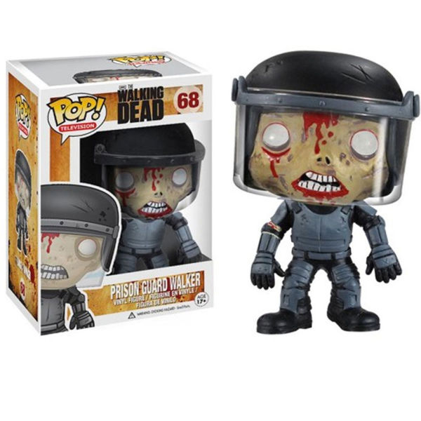 The Walking Dead Prison Guard Zombie Pop! Vinyl Figure